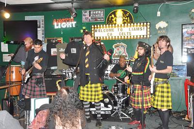 The California Celts at Liam's, Colton CA 25 February 2011