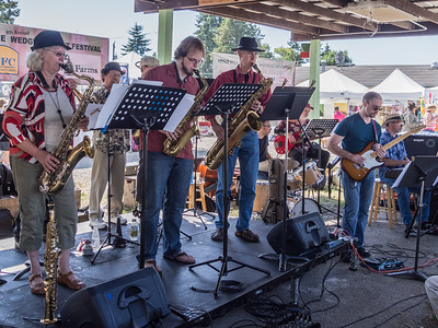 The Centerpiece Jazz Band at the Wedgwood Art Festival, July 13, 2013.