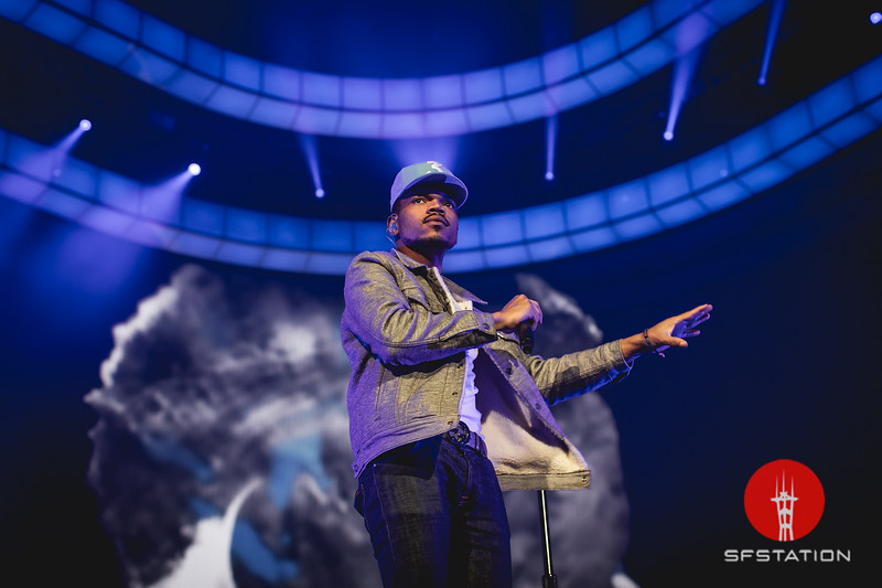 Chance The Rapper, Apr 26, 2017 at Oracle Arena