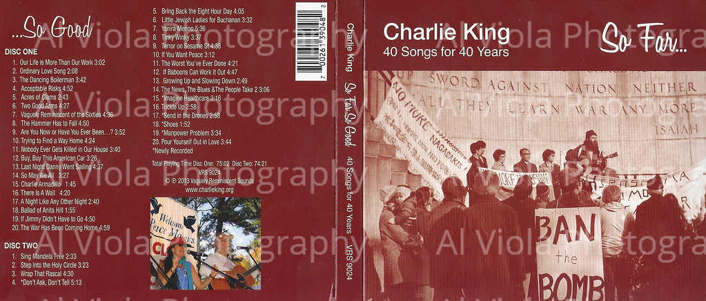 Charlie King CD cover 2013
