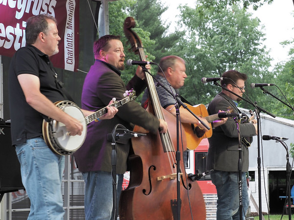 Edgar Loudermilk Band with Wes on banjo