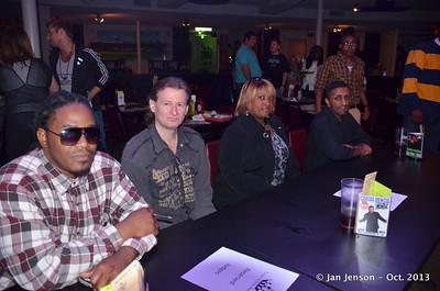 Judges for the CMA 2013 Urban Showcase - 10-13-13 Neel Jadeja, Darren Watts, Blondy and K-Dot.