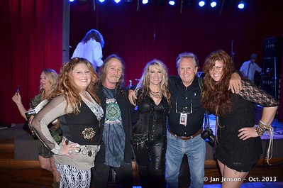 Photographers Dave & Mike with all the pretty girls...! Julia Ann Roberts, David Vandenberg, Michelle Leigh, Michael Williams, Lily Tallent