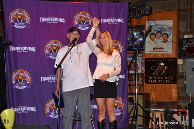 Jeff Cheen with Tiffany Ashton - winner of the 2015 CMA Singer-Songwriter Showcase!