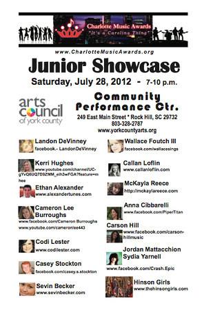 CMA 2012 Junior Showcase