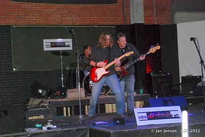 Charlotte Music Awards 2012 Rock Showcase at The Chop Shop in Charlotte's NoDa District on Thursday, April 26, 2012. Skinny Velvet.