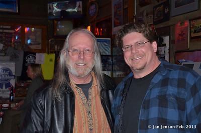 John Martin and Shawn Kaupish (sound man)