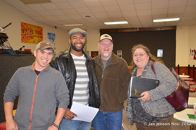Scott Sanders, Nikao Wallace and Ron Humphries of Southern Experience Band & Terry Gage