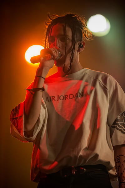 March 8, 2018 Chase Atlantic opening for Lights at Bogart's in Cincinnati, Ohio. Photo by Tony Vasquez for Entranced Media.