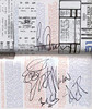 the guys in Cheap Trick signed it opposite of the page that has a copy of the ticket of a show Liz and I went to!  December 1979 Oakland Coliseum Arena!