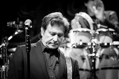Robert Lamm on lead vocals anf keyboards for Chicago at the Count Basie Theater in Red Bank NJ on Nov 3 2013.