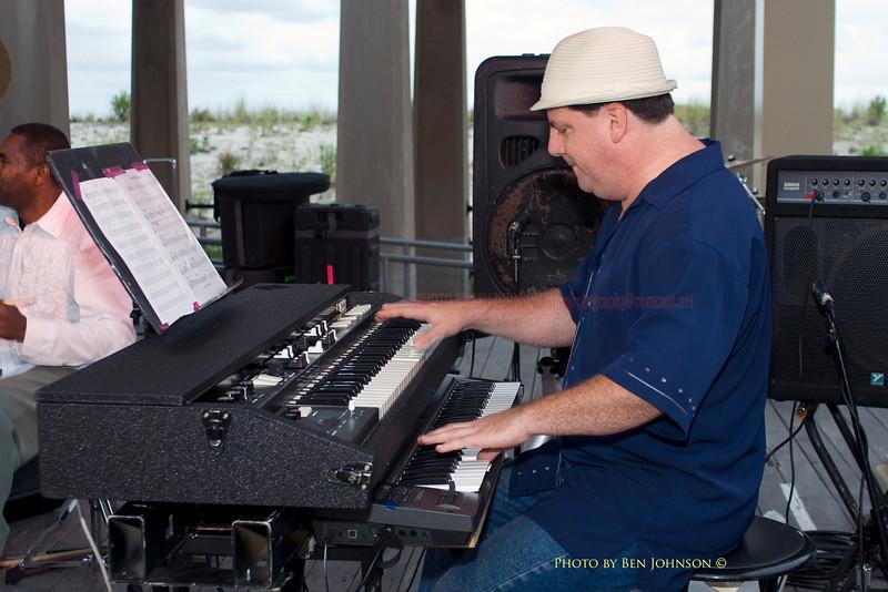 Rick Budesa - performing with The Tony Day Quartet - Chicken Bone Beach Jazz Series 2009 - Kennedy Plaza,  Atlantic City, New Jersey