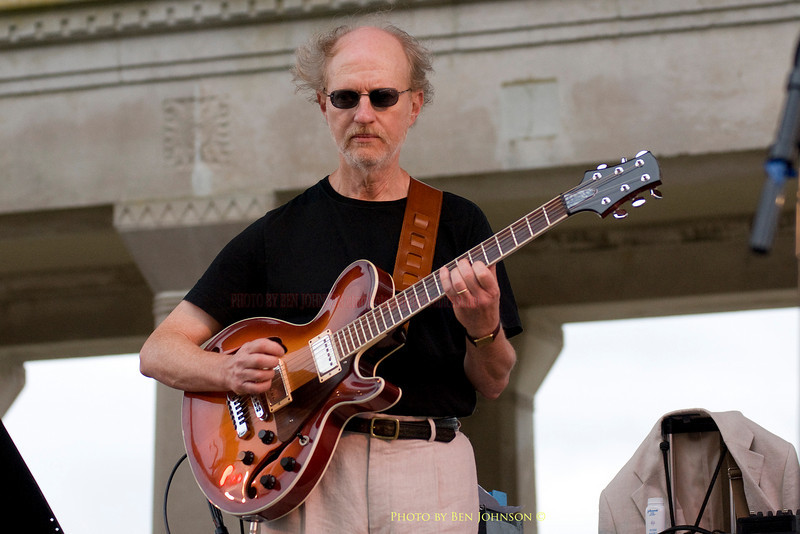 Bob Devos - performing with The Tony Day Quartet - Chicken Bone Beach Jazz Series 2009 - Kennedy Plaza,  Atlantic City, New Jersey