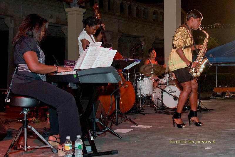 The Tia Fuller Quartet - Chicken Bone Beach Jazz Series 2009 - Kennedy Plaza,  Atlantic City, New Jersey