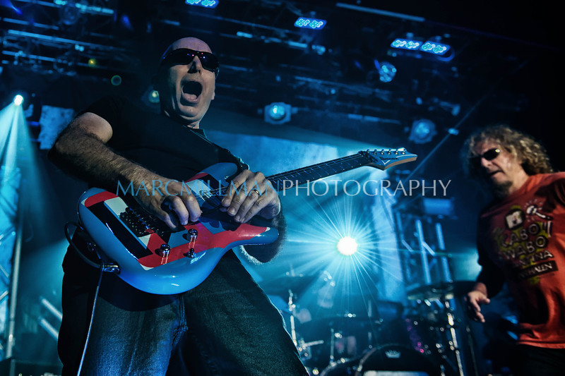 Satch wails<br /> <br /> Chickenfoot @ Webster Hall (Tue 11/8/11)