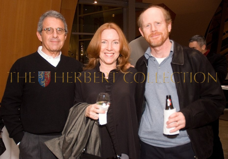 Ron Meyer; Chairman of Universal with Ron Howard and his wife