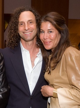 Kenny G and his wife