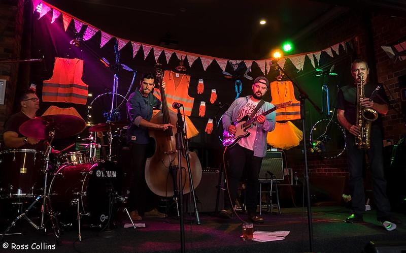 Chris Armour Quartet at CubaDupa, 25 March 2017