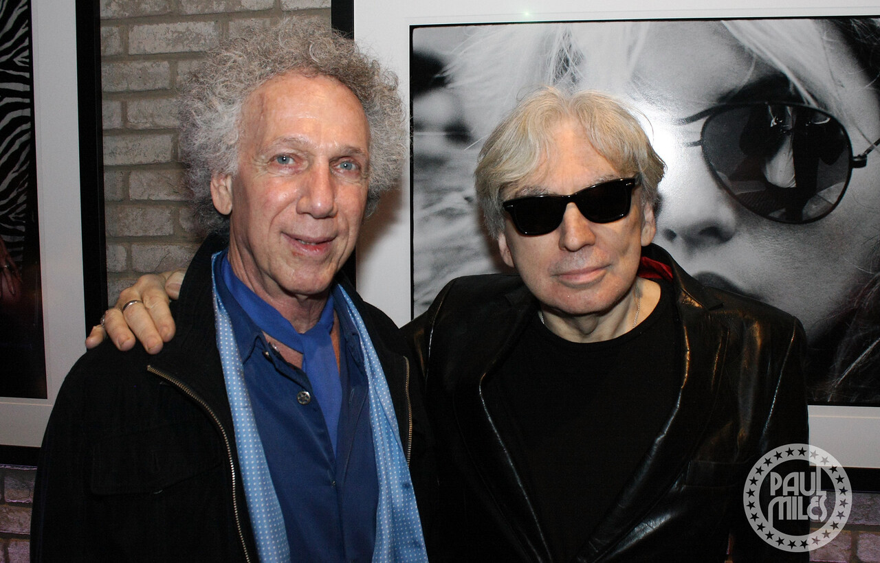 Bob Gruen & Chris Stein