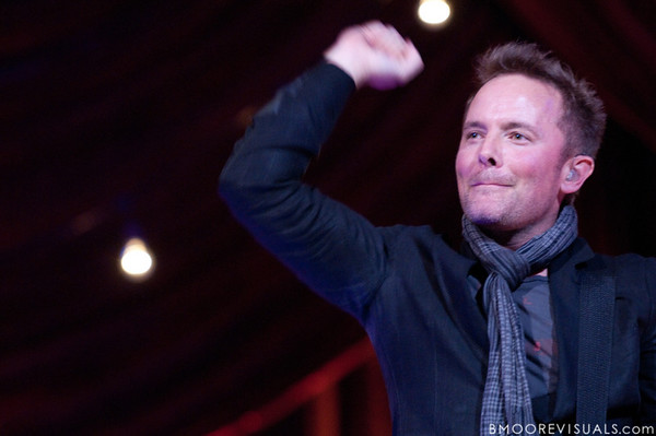 Chris Tomlin performs on December 3, 2009 at Countryside Christian Center in Clearwater, Florida