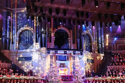 Royal Albert Hall organ. 23 December 2012