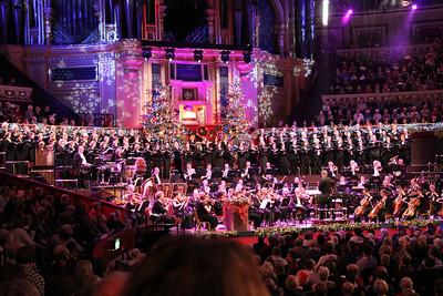 London Consort Orchestra, The Bach Choir and Royal Albert Hall organ. 23 December 2012