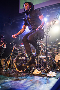 WEST HOLLYWOOD, CA - NOVEMBER 19:  Musician Austin Brown performs at Myspace LIVE series at Key Club on November 19, 2012 in West Hollywood, California.  (Photo by Chelsea Lauren/WireImage)
