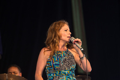 Cindy Scott Performing at New Orleans Jazz Festival 2012