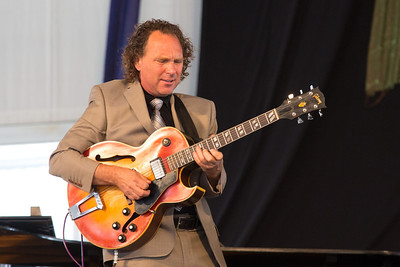 Brian Seeger on Guitar Performing at New Orleans Jazz Festival 2012