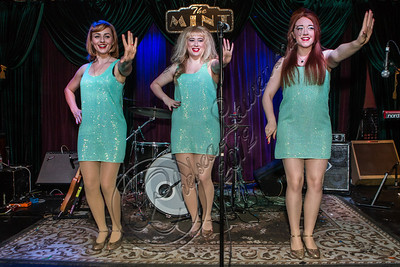 LOS ANGELES, CA - NOVEMBER 13:  (L-R) Singers Camilla McKewen, Ruby Jones and Loretta Miller perform at The Mint on November 13, 2012 in Los Angeles, California.  (Photo by Chelsea Lauren/WireImage)