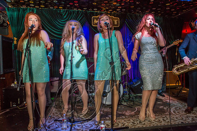 LOS ANGELES, CA - NOVEMBER 13:  (L-R) Singers Loretta Miller, Ruby Jones, Camilla McKewen and Clairy Browne perform at The Mint on November 13, 2012 in Los Angeles, California.  (Photo by Chelsea Lauren/WireImage)