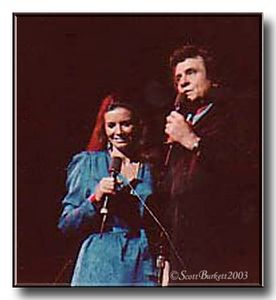 Johnny Cash & June Carter Cash 1982