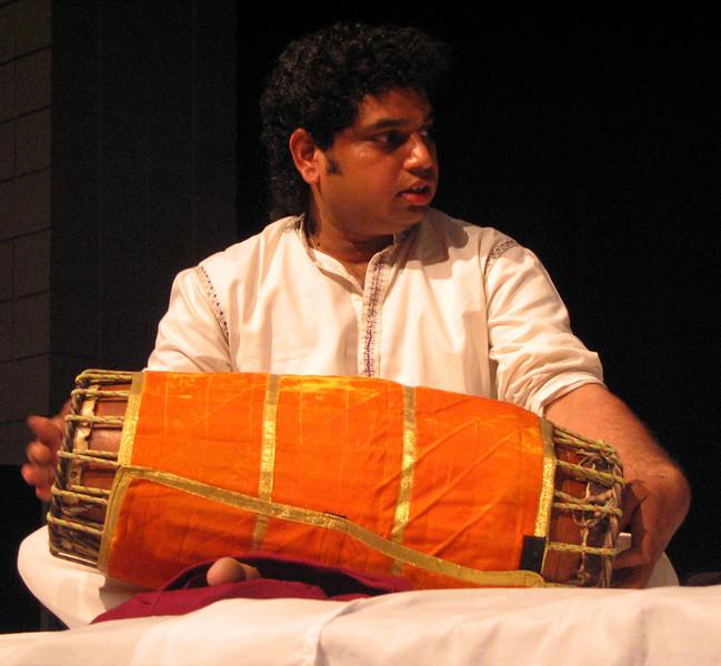 Parupalli Phalgun on Mridangam 2