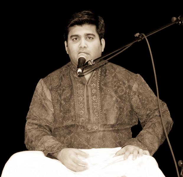 3 Shri Anurag Harsh, Vocals - Sep 29 2007, Raleigh, NC (908p)