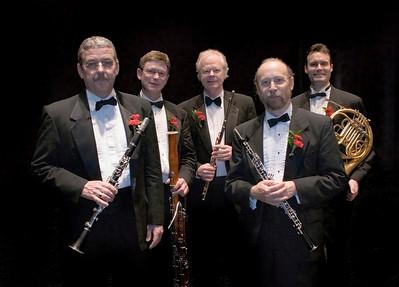 Carolina Wind Quintet - Concert