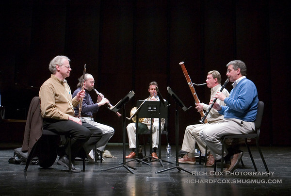 Carolina Wind Quintet - Rehearsal