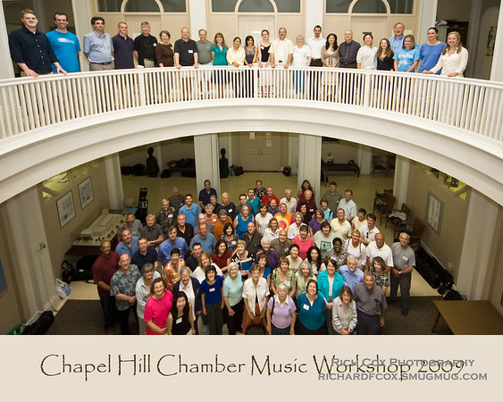 Chapel Hill Chamber Music Workshop & ICMP 2009