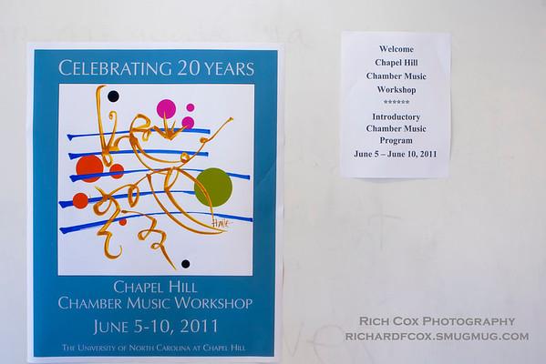 Chapel Hill Chamber Music Workshop 2011-Sunday
