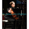 Jeudi 7 avril 2011: Marie-Cécile Bertheau, piano, avec le reflet du violoncelliste Guillaume Bouillon.