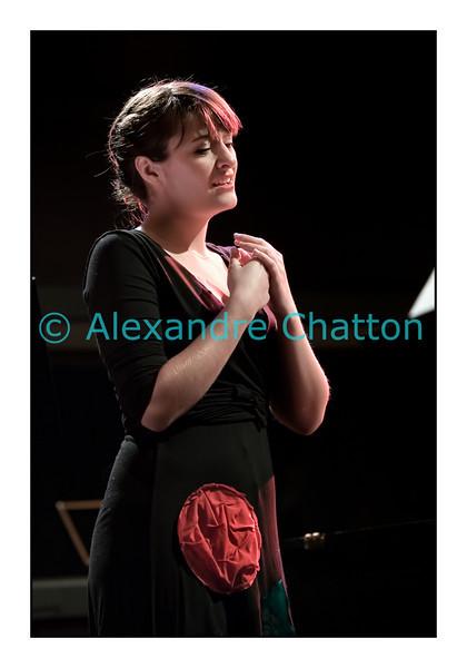 La soprano Capucine Keller en janvier 2011.