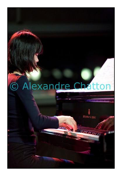 La pianiste Beatrice Lin en février 2010.