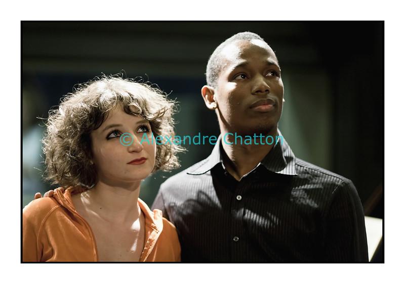 28 avril 2010: la pianiste Irene Puccia et le baryton Yannis François.