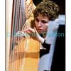 La harpiste américaine  Lindsay Buffington en 2010.