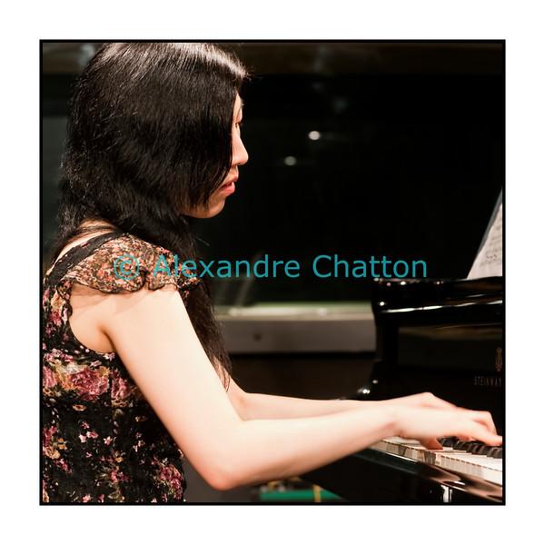 8 avril 2011: la pianiste Maiko Inoue.