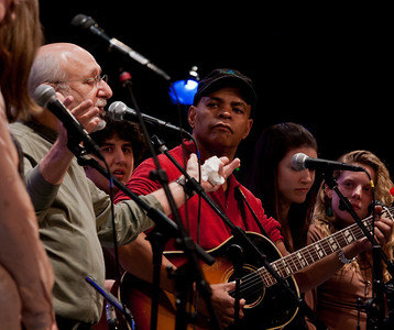 Peter Yarrown, Guy Davis and The Power of Song Singers.
