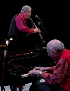 Paquito D'rivera and George Wein.