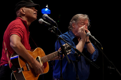 Guy Davis and John Sebastian.