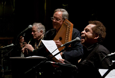 Garland Jefferies, Tom Chapin and David Amram.
