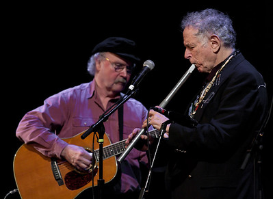 David Amram and Tom Paxton.