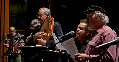 Tom Paxton, Garland Jefferies, Tom Chapin, David Amram and Lorin Sklamberg.